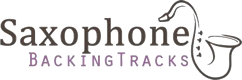 Saxophone Backing Tracks Retina Logo